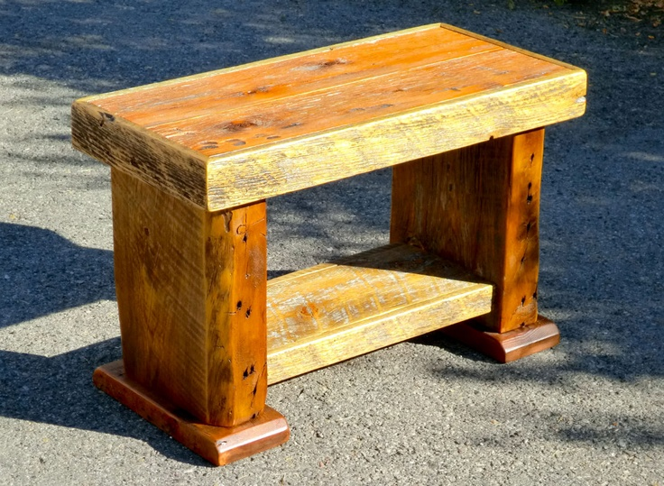idea for bench | woodworking | Pinterest