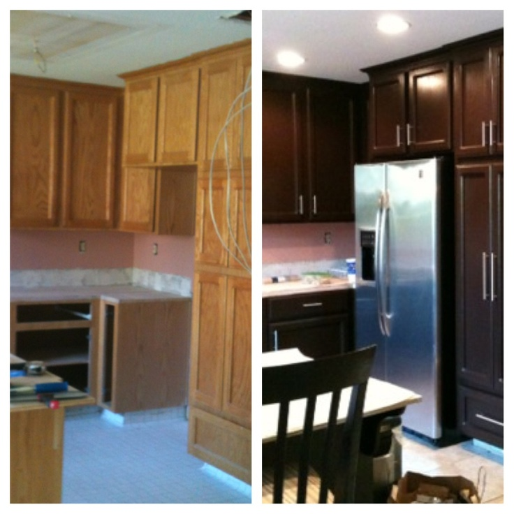 Kitchen Cabinets Makeover Kitchen Cabinet Makeover Remodeling Pinterest