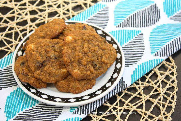 Pumpkin Cranberry Chocolate Cookies