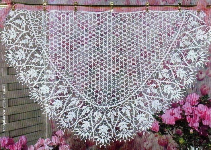 Russian pattern with chart Crochet Pinterest
