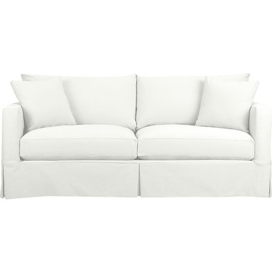 Willow Sofa In Sofas Crate And Barrel Furniture