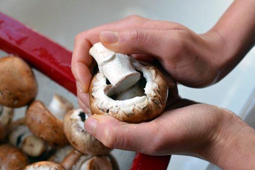 Paleo Shrimp-Stuffed Mushrooms | Award-Winning Paleo Recipes | Nom Nom ...