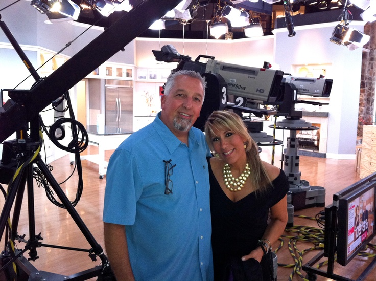 Readerest Rick and I at QVC Things I like! Pinterest