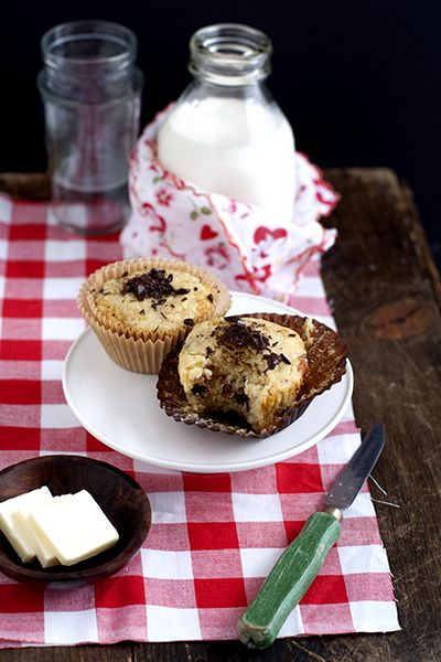 Cherry Chocolate Chip Muffins | Food ... the sweets | Pinterest
