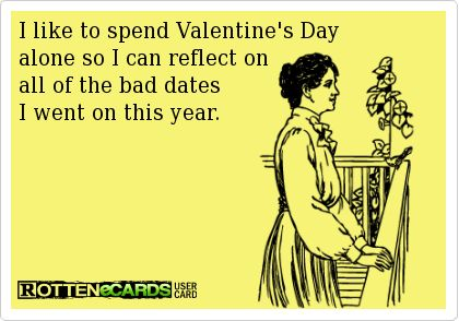 ecards alone on valentine's day