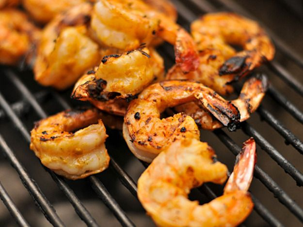 Try Grilled Garlic-Lime Shrimp for the Fourth of July!