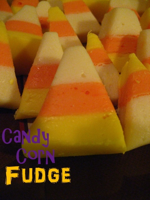 Candy Corn Fudge | sweets and treats | Pinterest