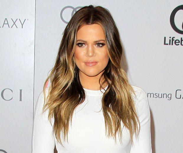 khloe kardashian - hairstyle