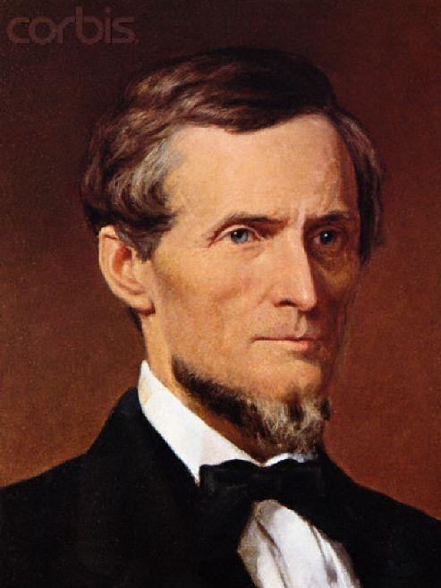 jefferson davis confederate president civil war