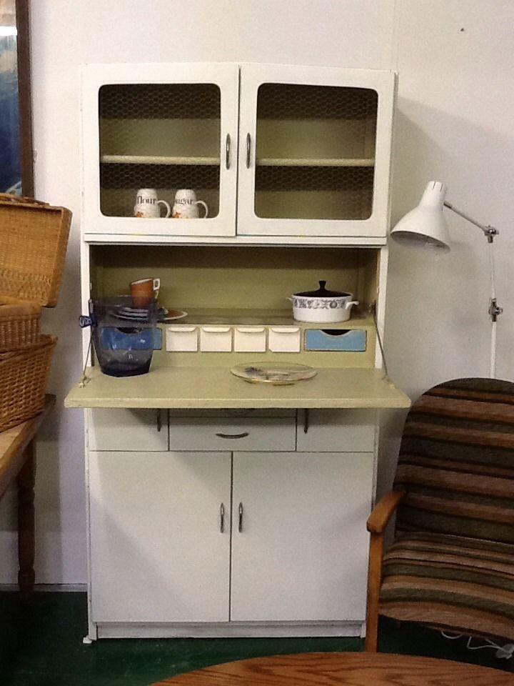 Vintage Retro Kitchen Cabinet Cupboard Larder Kitchenette