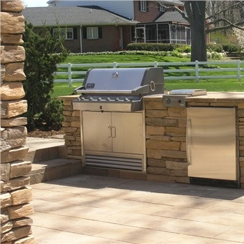 outdoor grill patio area outside pinterest. Black Bedroom Furniture Sets. Home Design Ideas