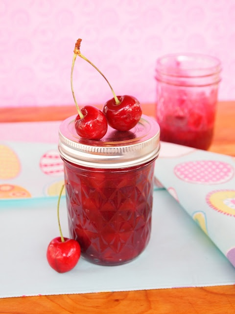 Homemade Cherry Pie Filling 2-2 1/2 cups pitted red cherries, sliced ...