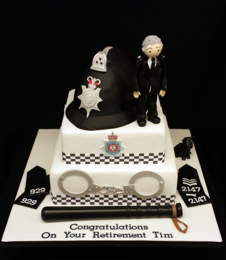 Police Retirement Cake Images : Police Retirement Cake Cakes, Cakes & More Cakes Pinterest