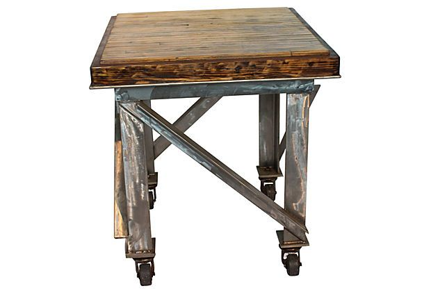Industrial Kitchen Island On Casters