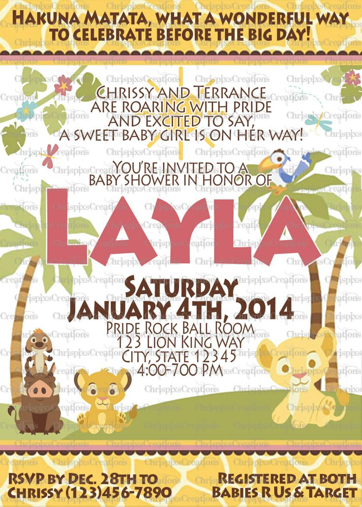 lion king baby shower invitations boy lion king baby shower