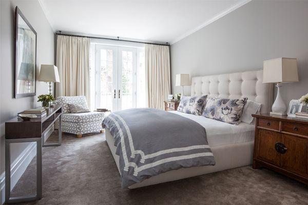 Grey Master Bedroom For Slumber Pinterest