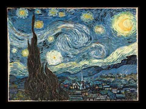 a comparison of starry night by vincent van gogh and anne sexton Vincent van gogh's starry night & starry night over the rhone  the sky in  starry night has been compared to the 1845 drawing by lord  espace,  mouvement, american poet anne sexton's poem the starry night,.