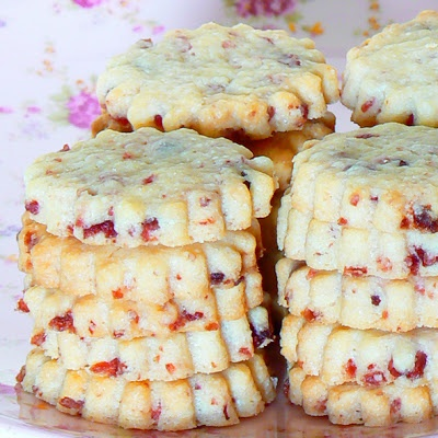 Cranberry shortbread | I eat with my eyes! Recipes -- Food/Drinks | P ...