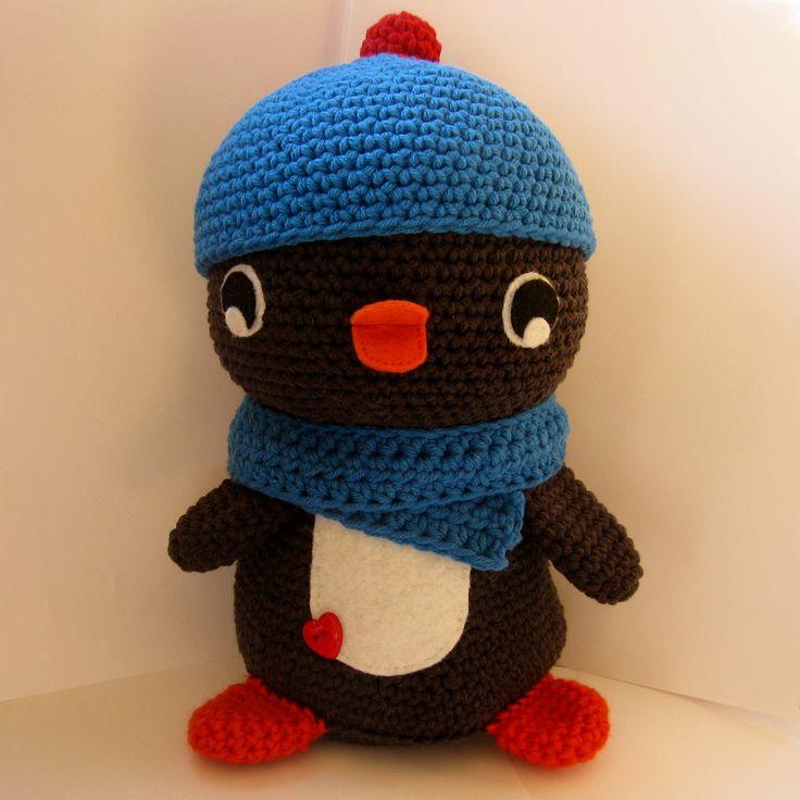 Amigurumi Crochet Penguin Pattern : Huggable Amigurumi Penguin crochet pattern - PDF Digital ...