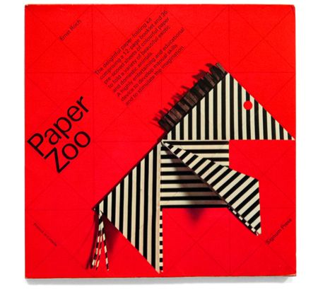 Brilliant -- Paper Zoo designed by Ernst Roch.