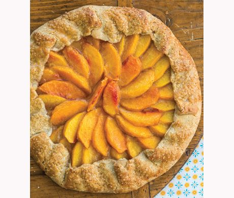Peach Galette Recipe at Epicurious.com