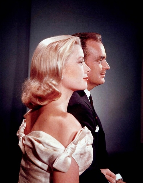 Grace Kelly and husband Prince Ranier | More Grace Kelly lusciousness ...