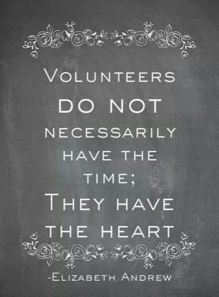 Volunteer Quotes Inspirational Quotesgram