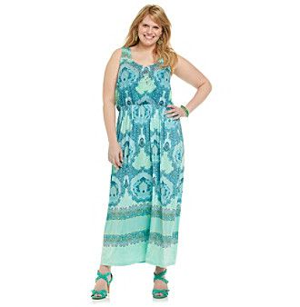 Younkers Plus Size Maxi Dresses 95