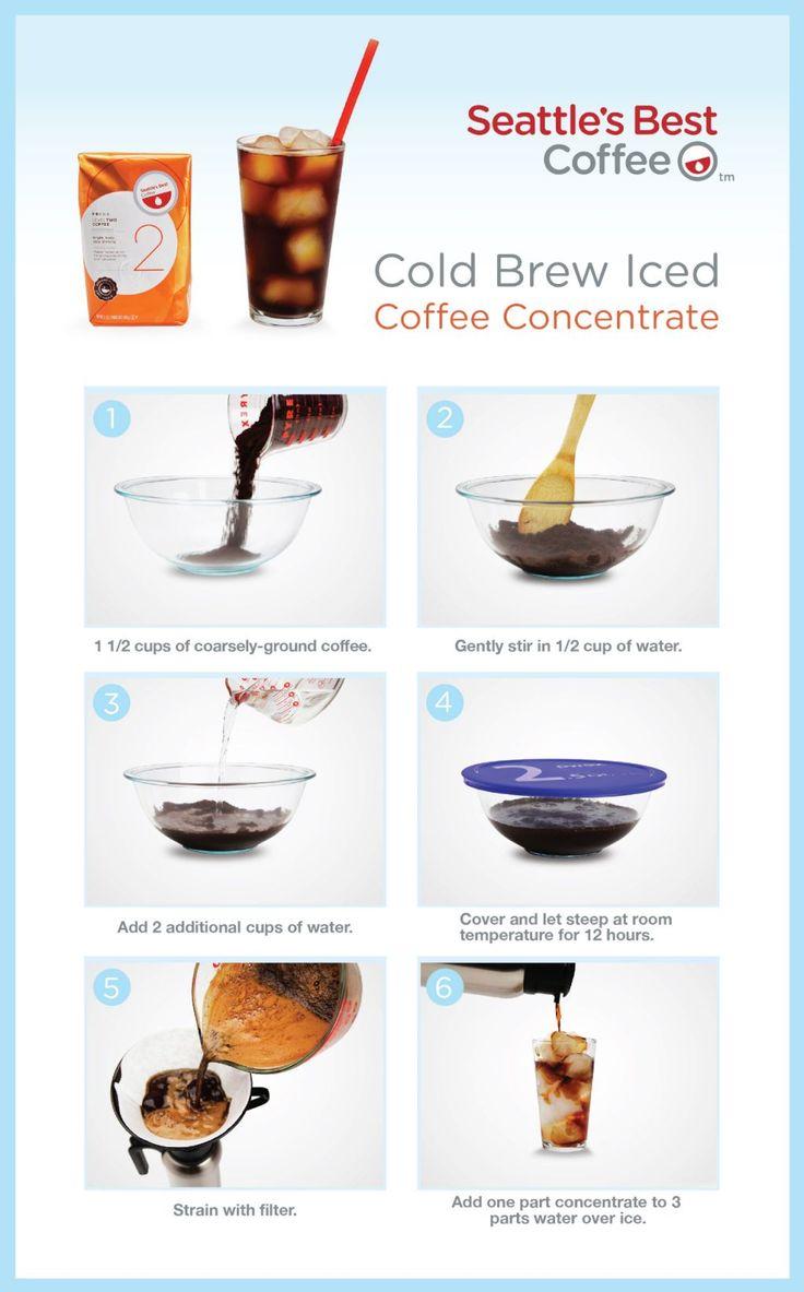Cold Brew Iced Coffee | Booze | Pinterest
