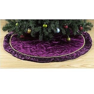 Tree Skirt Purple 58