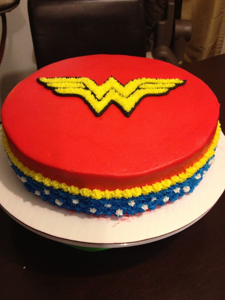Cake Designs For Birthday Woman : Wonder Woman Cakes Wonder Woman s Cake Food Pinterest
