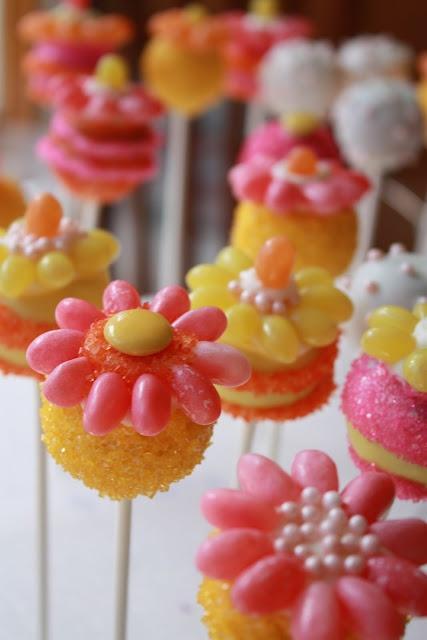 Welcome Sunshine Cake Pops
