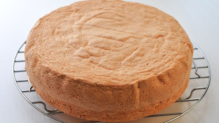 Тесто бисквитное на торт в домашних условиях 748