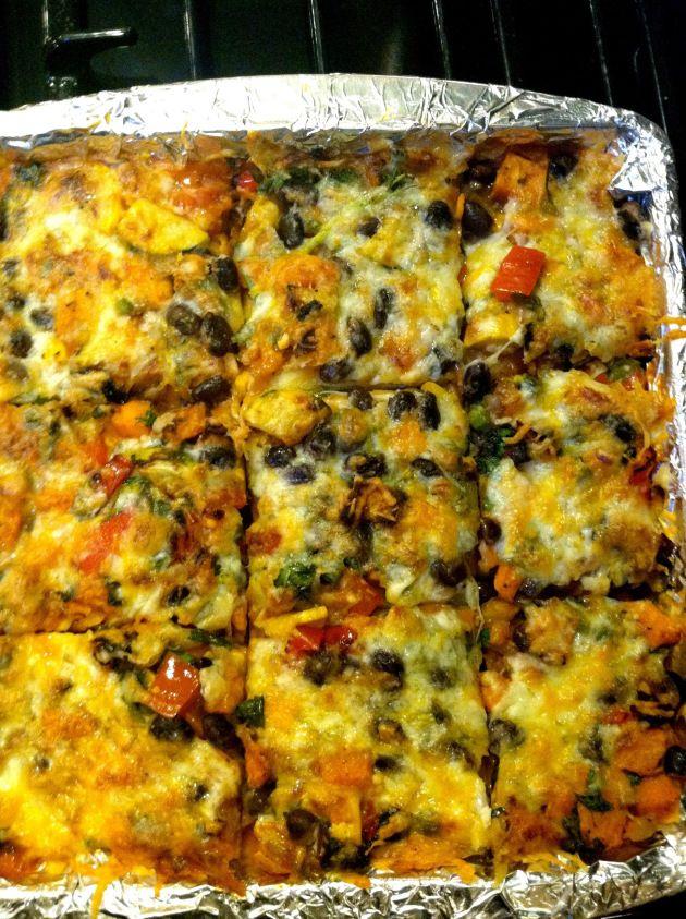 Roasted Vegetable Stacked Enchiladas | Vegetarian and Vegan ...
