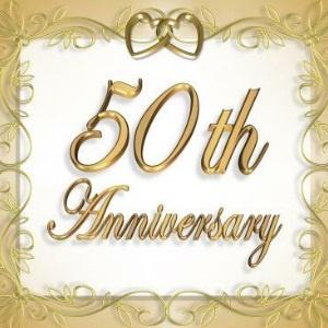 GOLDEN WEDDING ANNIVERSARY GIFTS IDEAS 50th Wedding Anniversary
