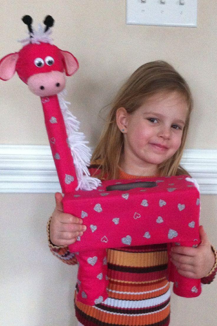 valentine's day giraffe stuffed animal