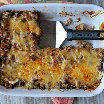 Beef and Bean Enchilada Casserole | Main Course | Pinterest