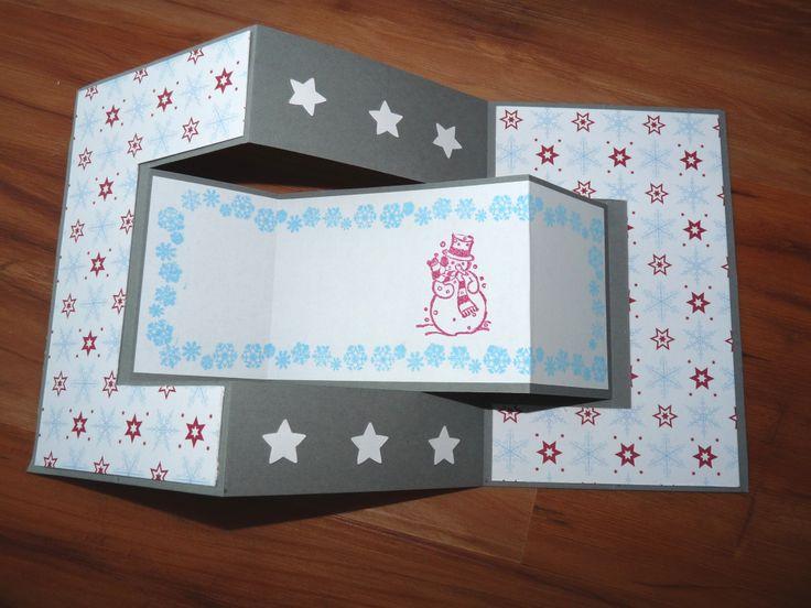 Vintage Karten Selber Basteln : Weihnachtskarte Nr 4  Scrapbooking  Pinterest
