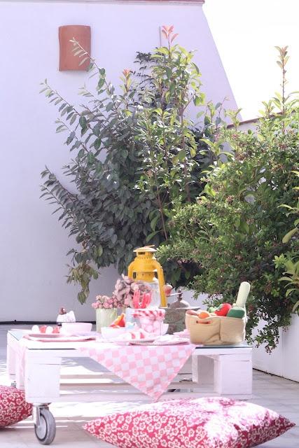Deco and Living: Un picnic infantil de fiesta de cumpleaños