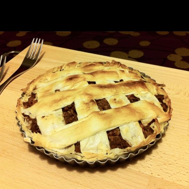 ground beef pie. | * Beef Recipes | Pinterest
