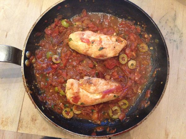Chicken, Tomato and Olive Penne | Food | Pinterest