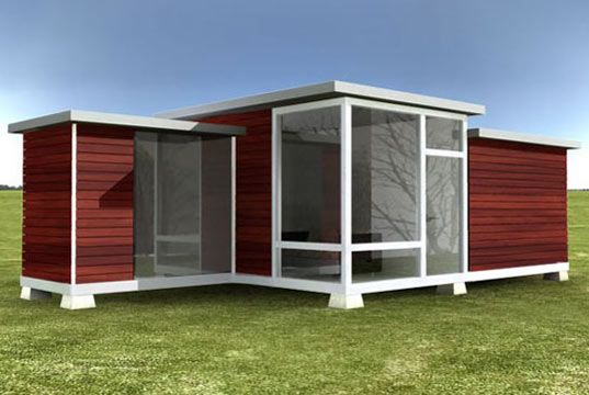 Modular Back Yard Guest House Backyard Ideas Pinterest