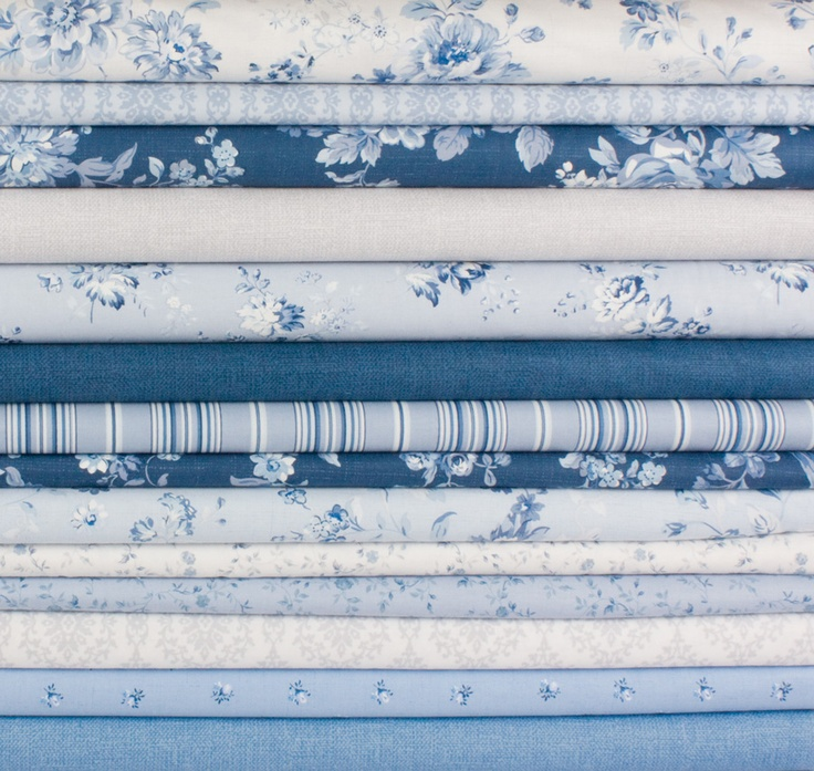 Chambray Rose collection by Rachel Ashwell. #ShabbyChic indeed! #fabric #chic
