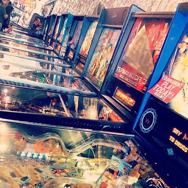 In Upper Haight: Free Gold Watch Vntage Arcade. Housing 20 pinball
