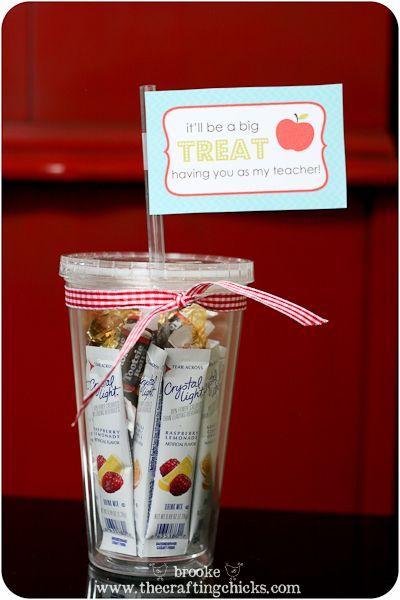 teacher treat cup printable