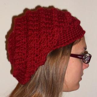 Free Crochet Pattern Bobble Hat : Pin by CROCHET CURATOR on Hats - Free Crochet Patterns ...