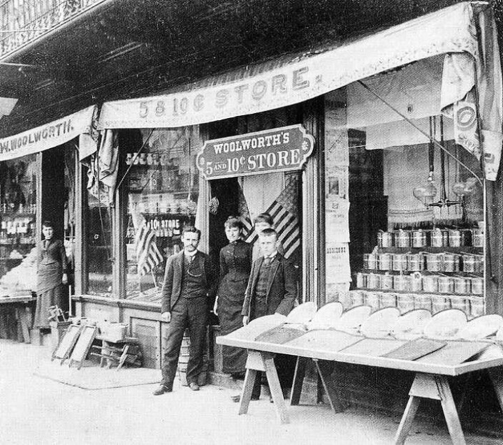 Pin by pat peachey on 5 10 cents store dime store Five and dime stores history