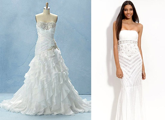 Dresses for princess jasmine bridal spring 2012 for Princess jasmine wedding dress