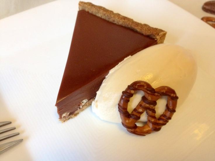 Chocolate Pretzel Tart // Serious Eats