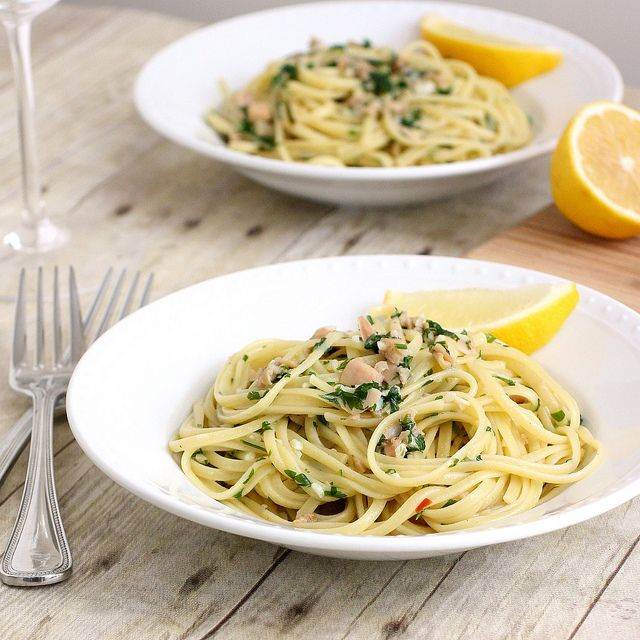 Linguine with Clam Sauce | Should I Try This? Food | Pinterest